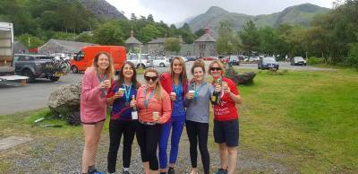 Lynn Team Snowdon Celebration